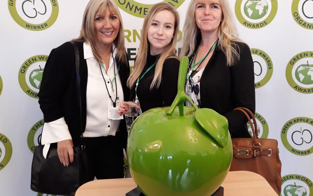 Green Apple Award for Environmental Best Practice 2018