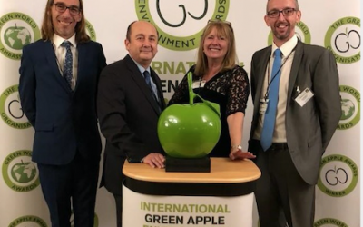HTS staff win Green Apple environmental Award