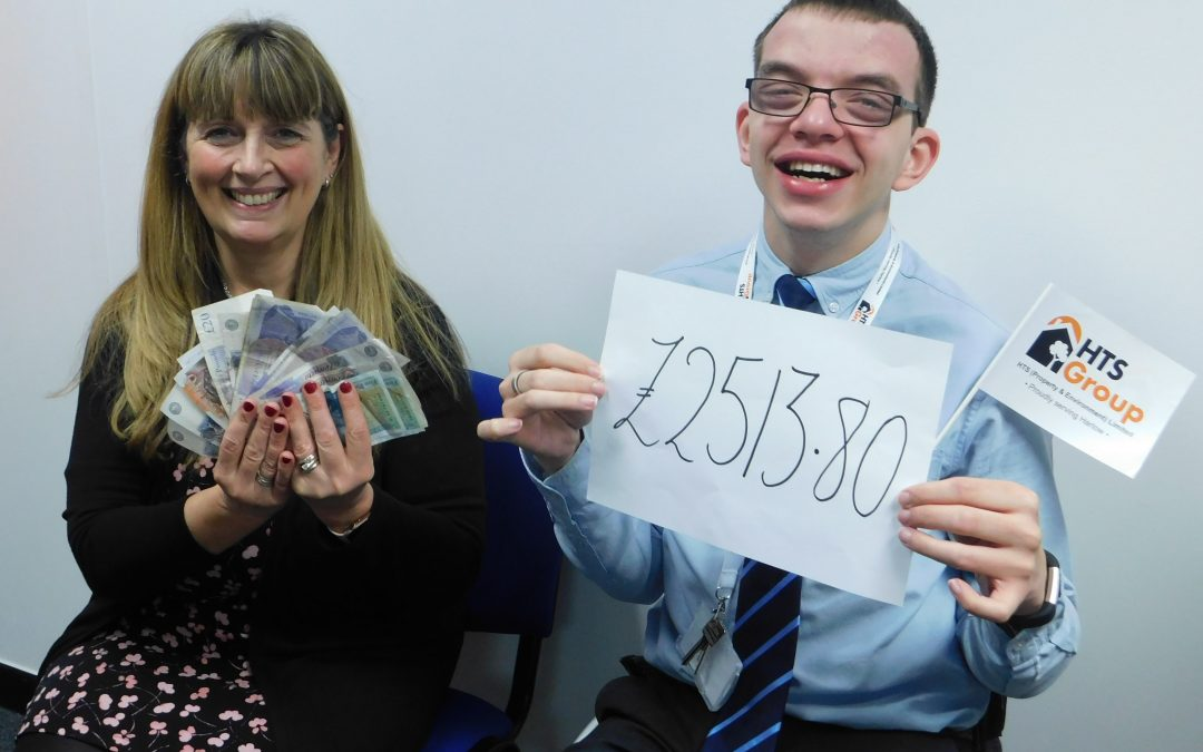 HTS raise an amazing amount for St Clare Hospice