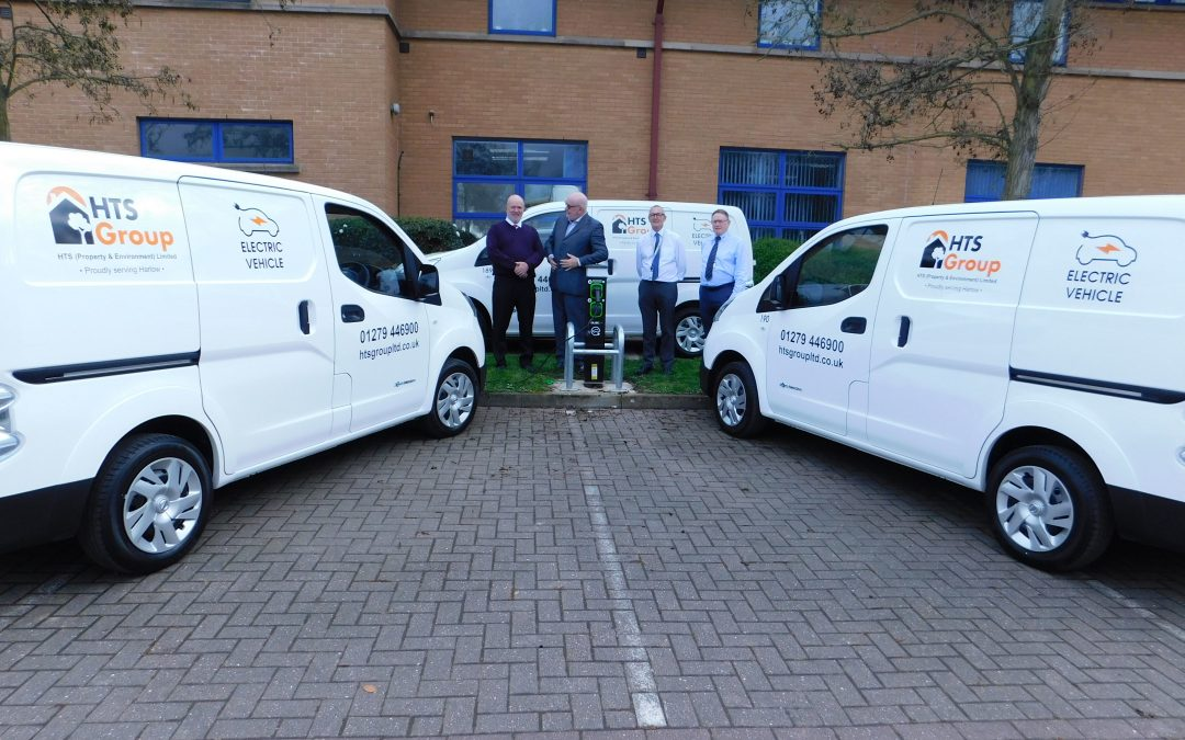 HTS receive their first 3 electric vehicles!