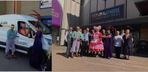 "HTS & Jewson Sponsor Christmas Panto ""Jack & the Beanstalk"" 2019 at the Harlow Playhouse!"