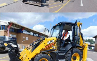 Out with the old and in with the new- JCB!