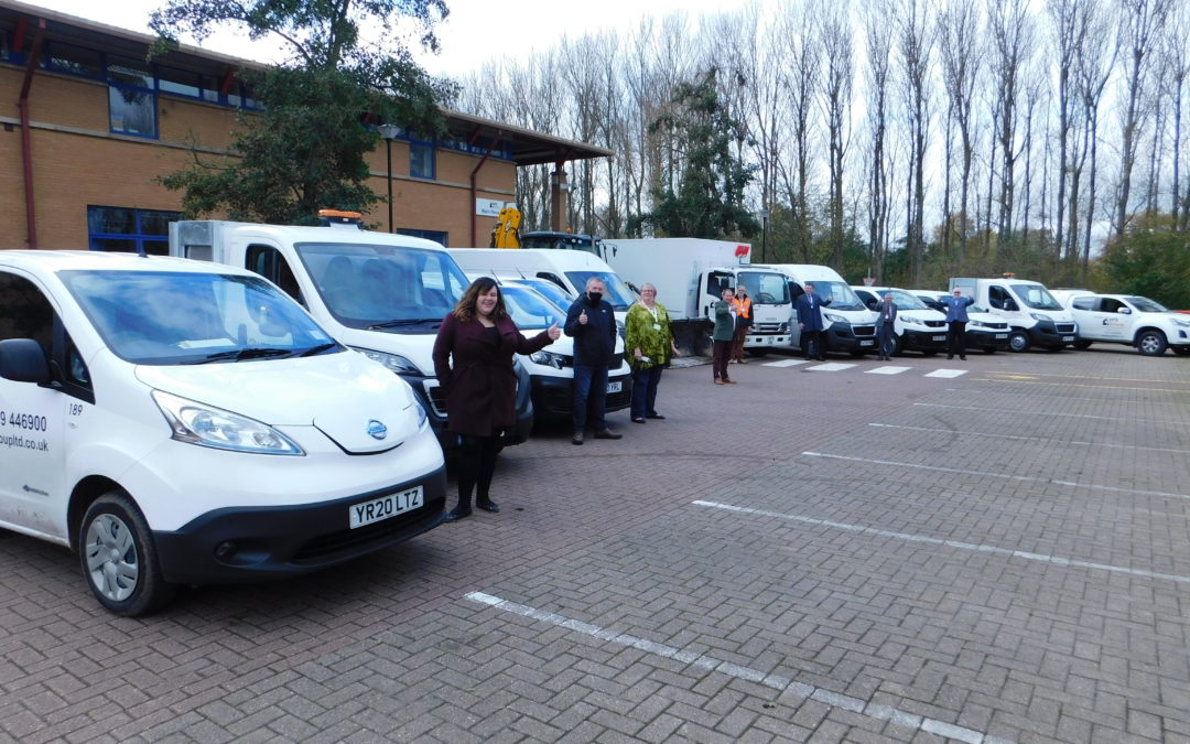 HTS Group Ltd continues to renew their fleet of vehicles!