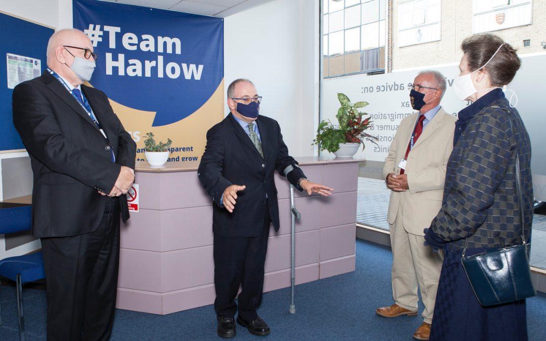 Royal visit to Harlow