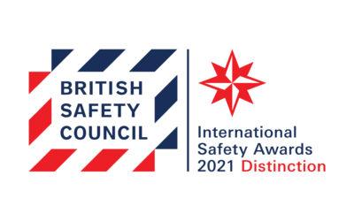 British Safety Council Awards 2021