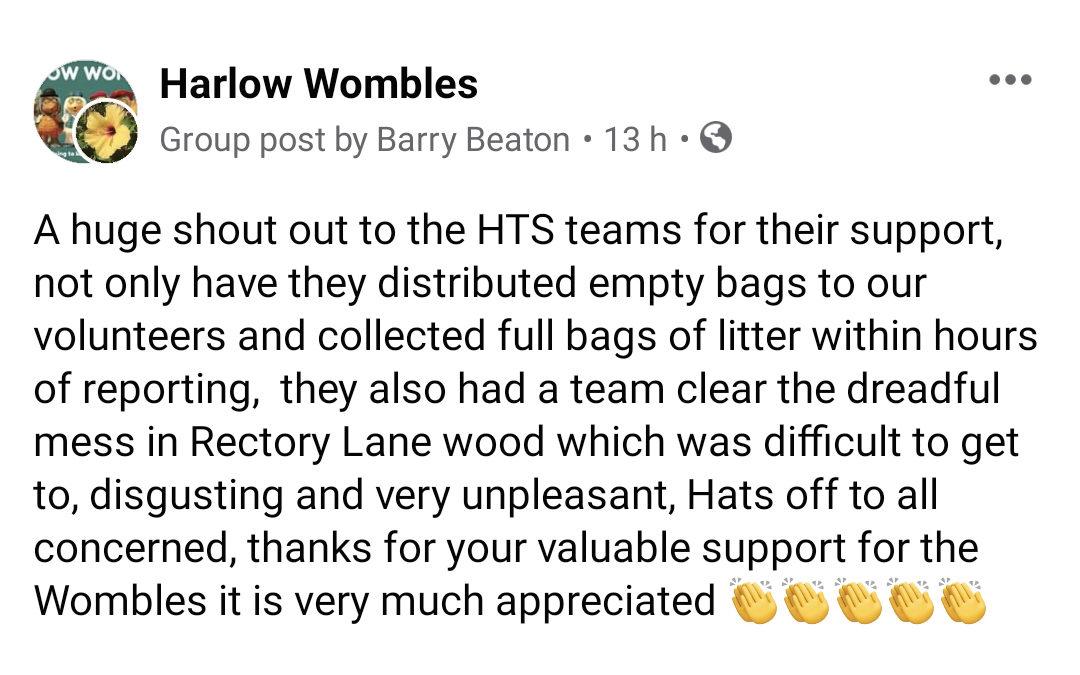 Harlow Wombles