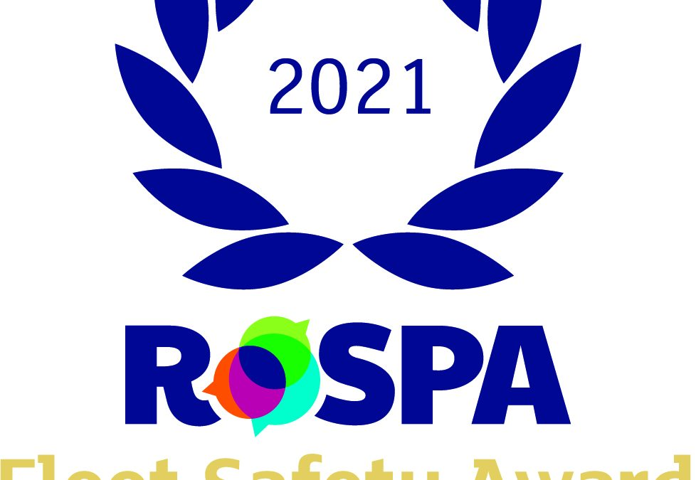 HTS Awarded Gold for Fleet Safety by RoSPA – 2021