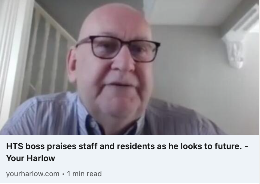 HTS boss praises staff and residents as he looks to the future – yourharlow.com