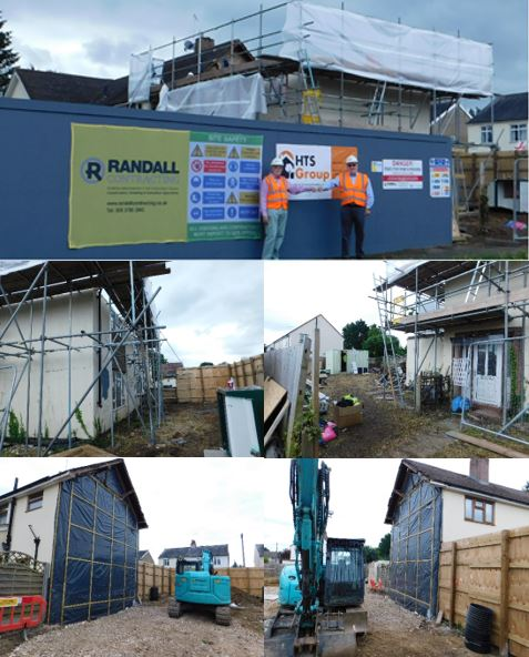 Works progressing at site of new housing in The Hill