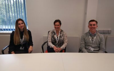 A warm welcome to our new Finance Apprentices